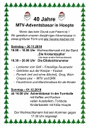 40.Adventsbasar Hoopte